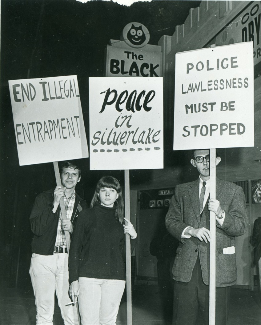 PRIDE Black Cat Protest, 1967