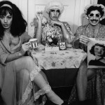 David Greene, Tea Time: Three Revolutionaries, 1974. SIlver gelatin print. ONE Archives