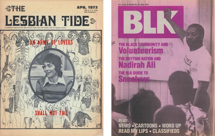The Lesbian Tide & BLK