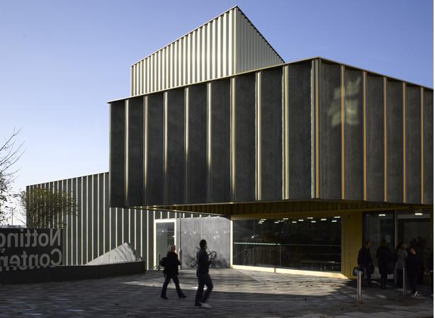 Exterior of the Nottingham Contemporary