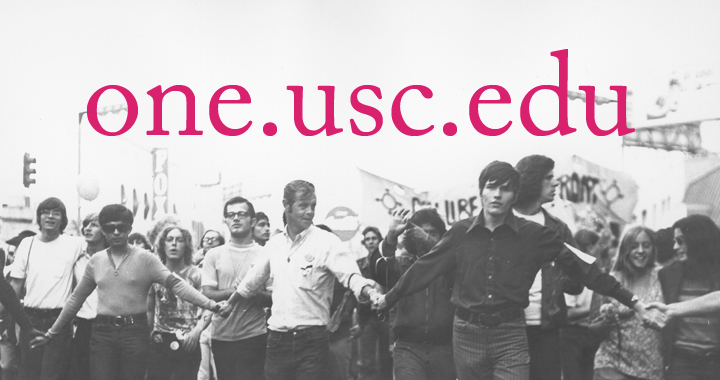 one.usc.edu: A New Website for ONE Archives at the USC Libraries