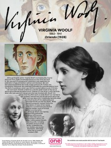 Panel 23 - Virginia Woolf