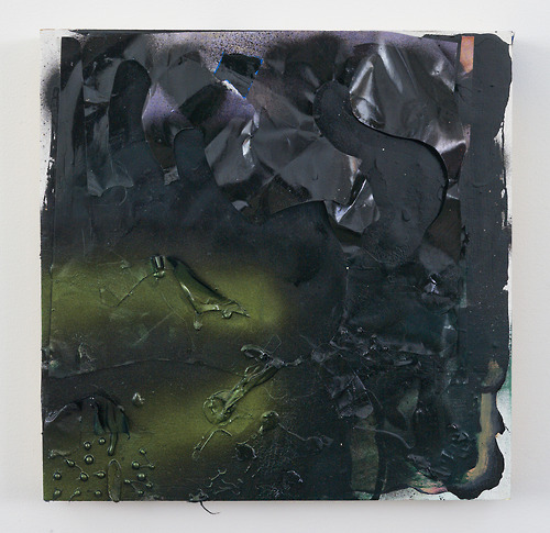 RJ Messineo, Untitled, 2012  Oil, enamel, spray paint and