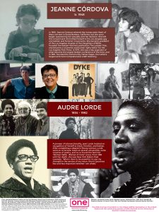 Jeanne Cordova and Audre Lorde