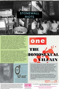 Panel 12 - The Stonewall Riots