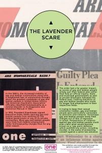 Panel 3 - Lavender Scare