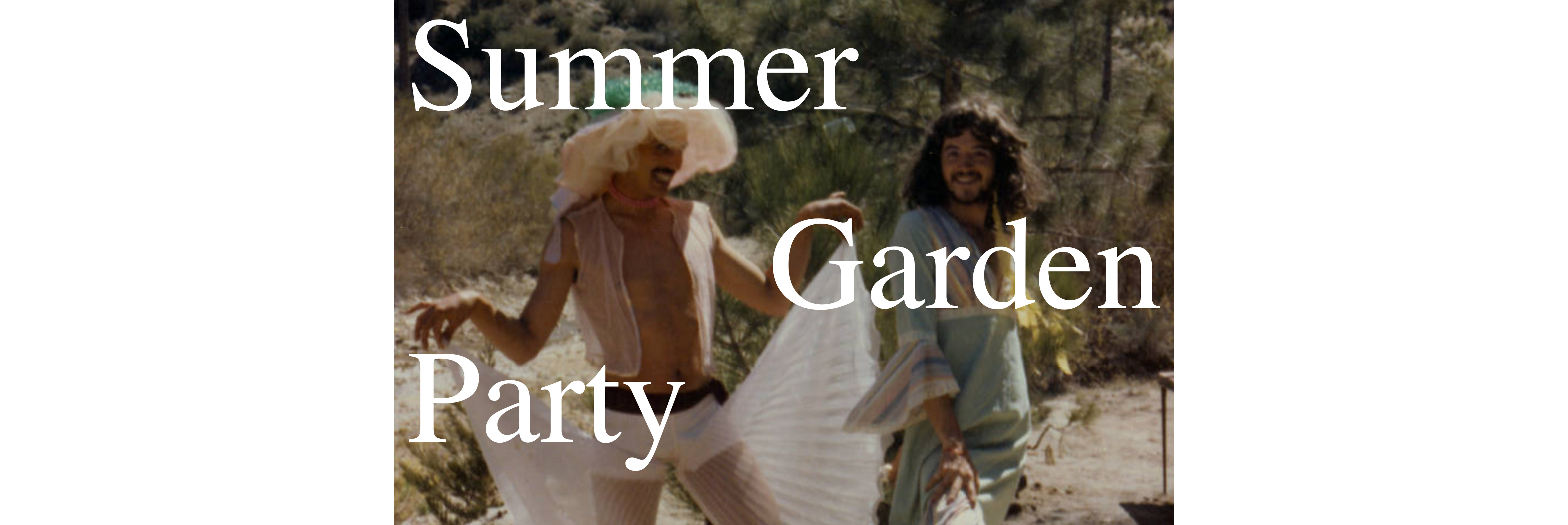 RSVP Now: Summer Garden Party