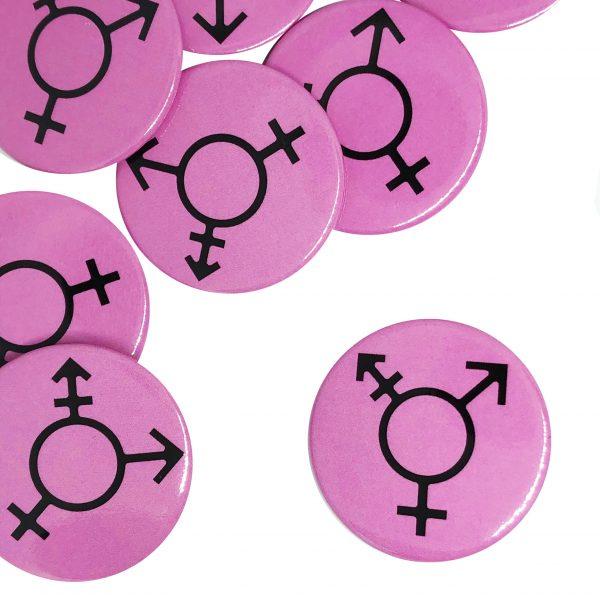 Transgender Symbol Button